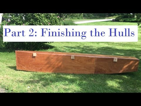 Homemade Catamaran Build part 2