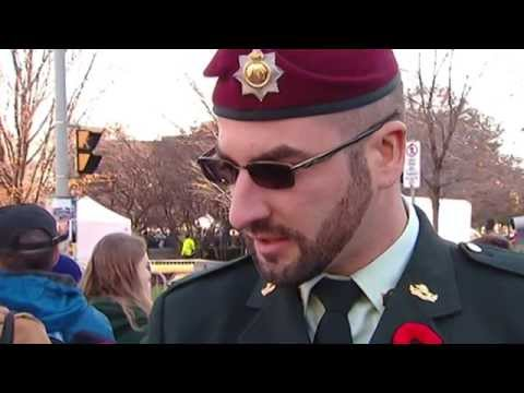 Remembrance Day 'sergeant' not in the military: DND