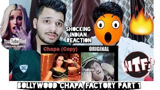 Bollywood Chapa Factory Part 1 | Bollywood Songs Copied From Pakistan | Shocking Indian Reaction.