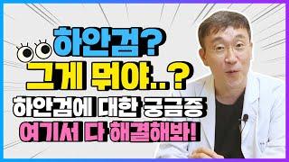 어떤 증상이 발생해야 #하안검 이라고 할까?