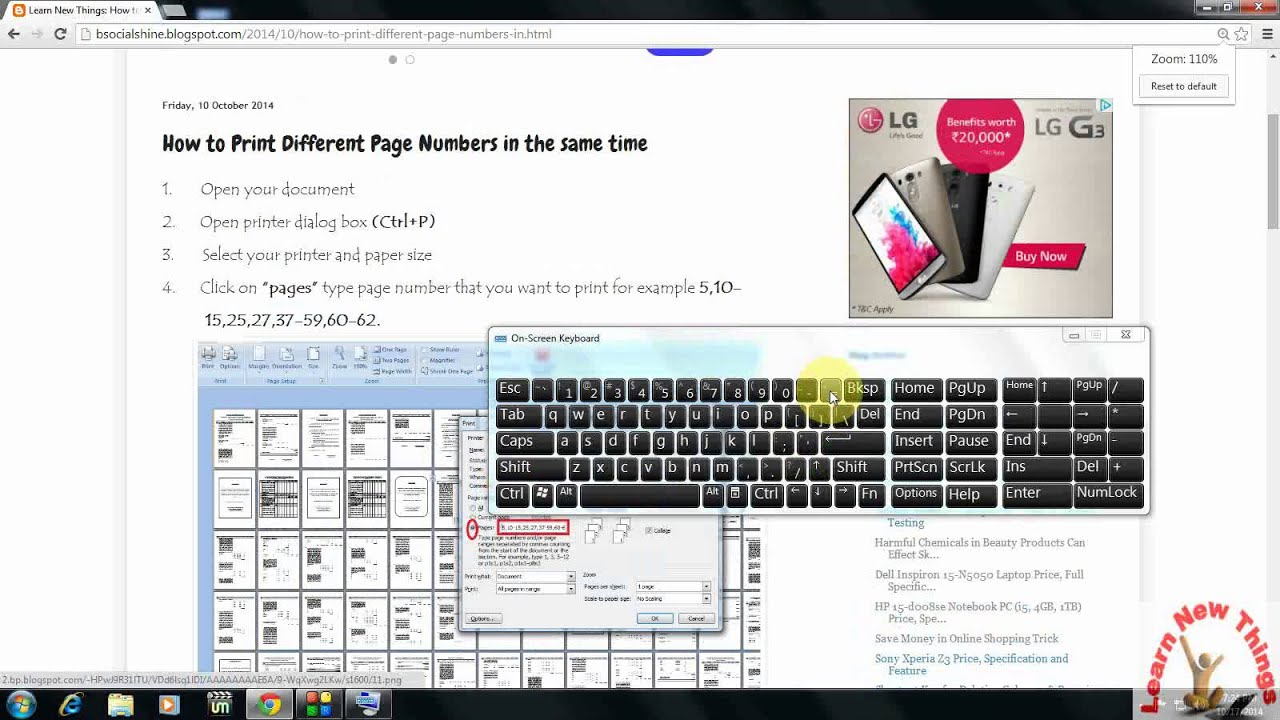 a55fd11325 Shortcut key to Zoom In, Zoom Out for All Browser - YouTube