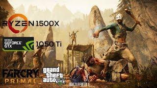 Ryzen 1500x + GTX 1050 Ti - 900p Gaming Benchmarks - 3 Games Tested