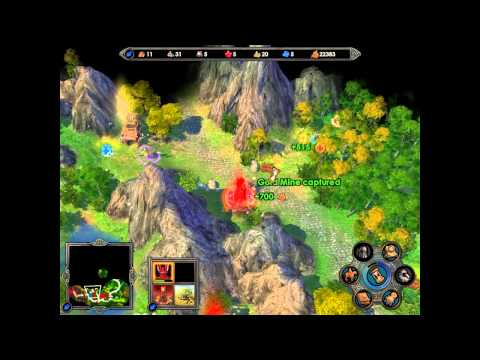 Heroes of Might and Magic V HD Walkthrough Mission 8 Inferno part 2 |