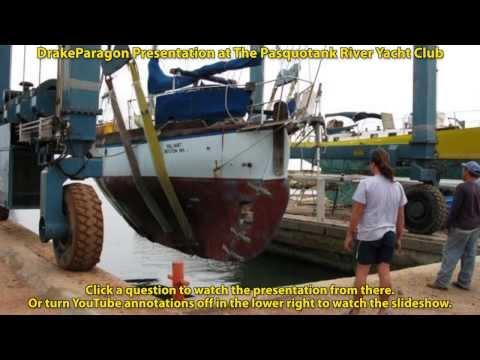 MENU: DrakeParagon Presentation at the Pasquotank River Yacht Club - MENU