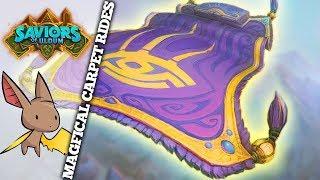Jambre's Magic Carpet Paladin | Firebat Hearthstone | Saviors of Uldum