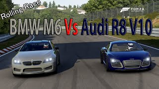 Forza Motorsport 6 - DRAG RACE: Audi R8 V10 Plus Vs BMW M6