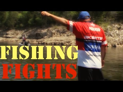 FISHING FIGHTS/DISPUTES (Tharp vs Herren, Rojas vs Jones) part2