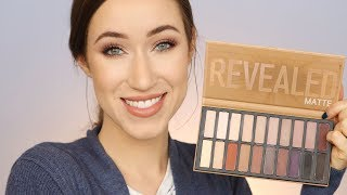 COASTAL SCENTS REVEALED MATTE PALETTE   SWATCHES, TUTORIAL, + REVIEW   ALLIE G BEAUTY