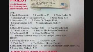 20 The Hellion & Electric Eye- Judas Priest Live Singapore 20Feb2012 ( Audience Bootleg )