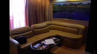 Grande Suite U83 on the Carnival Paradise (HD)