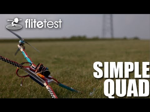 Flite Test - Simple Quad - REVIEW - YouTube