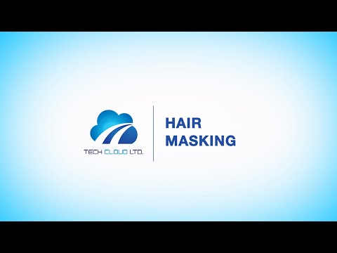 Advanced hair masking and photo masking services | Tech Cloud Ltd