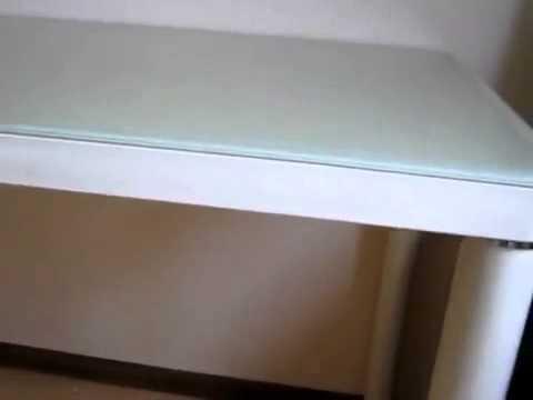 www.ctol.com.ua - Стеклянный стол (С306 кремовый)