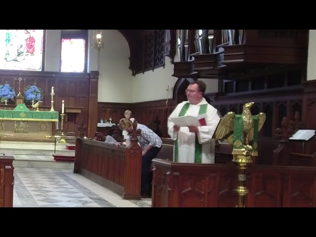 The Second Sunday after Pentecost June 6, 2021
