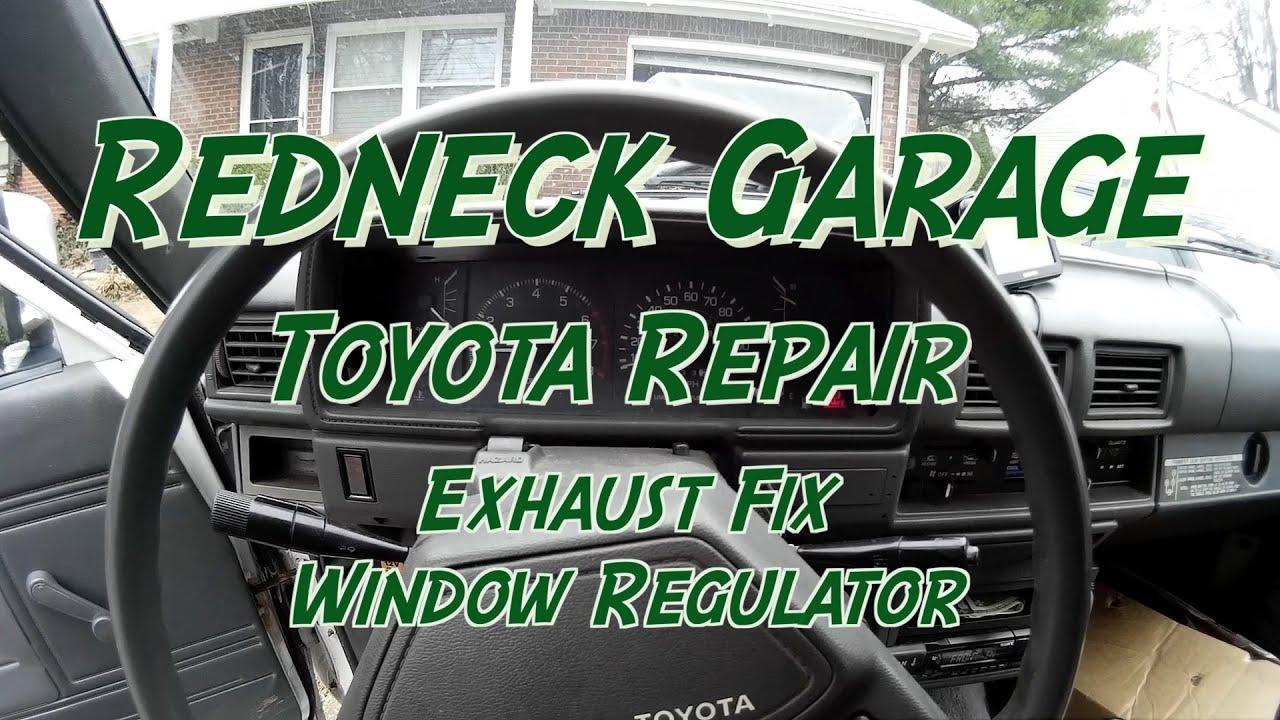 1986 Toyota Pickup Window Diagram Basic Guide Wiring 1977 Exhaust Regulator Repair Youtube Rh Com Schematics