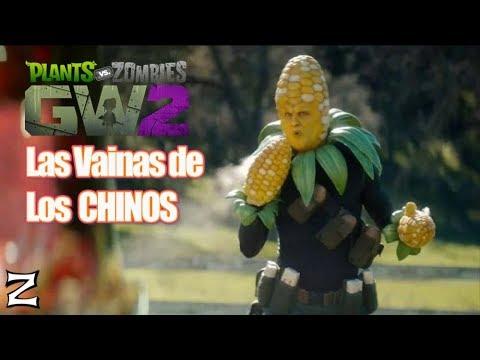 Las Vainas de los CHINOS - Plants vs Zombies Garden Warfare 2