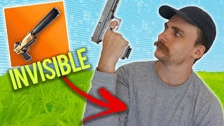 Turning Invisible with Muselk   Fortnite