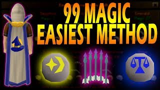 OSRS | Get 99 Magic By Effortlessly Clicking | Runescape