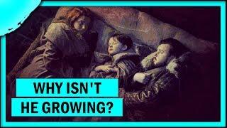 Why is Little Sam growing so slowly? (Azor Ahai Prophecy Bonus)