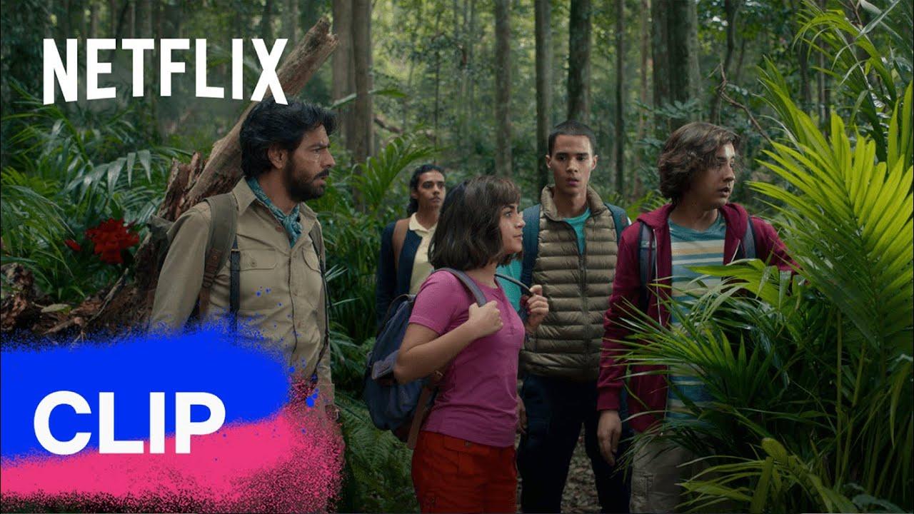 Iniziamo il viaggio nella giungla 💪 Dora e la città perduta | Netflix Futures