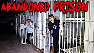 EXPLORING ABANDONED PRISON**AT NIGHT**