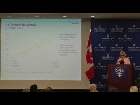 Ontario Premier Kathleen Wynne Gives the 2017 2018 Thomas O  Enders Memorial Lecture