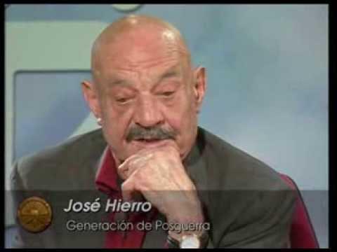 Rincón literario: Poetas españoles contemporáneos: José Hierro.