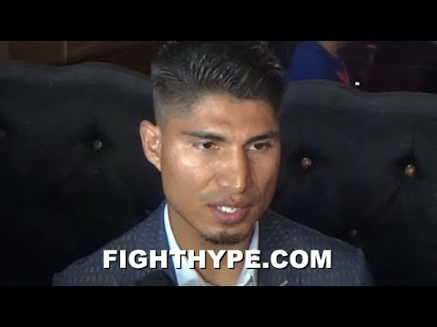 MIKEY GARCIA WARNS ROBERT EASTER HE CAN CATCH HIM OUTSIDE OR INSIDE; TALKS STRATEGY FOR REACH