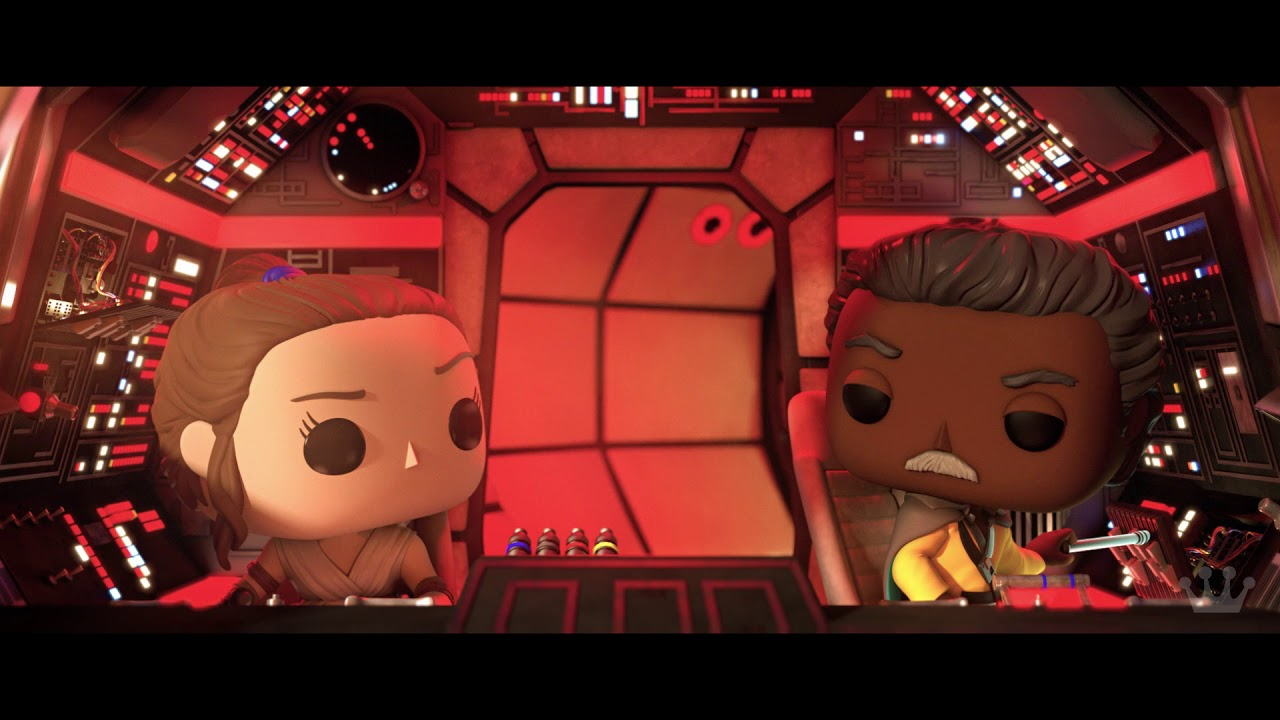 Star Wars Funko Animated Short Celebrating The Rise Of Skywalker Youtube
