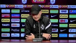 Conferință de Presă - Edward Iordănescu - CFR Cluj - FCSB (4-1), Etapa 7
