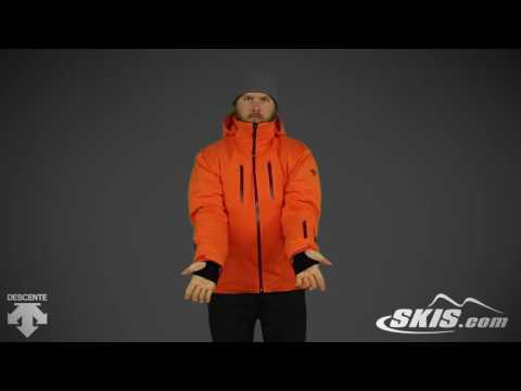 2017 Descente Anton Mens Jacket Overview by SkisDotCom