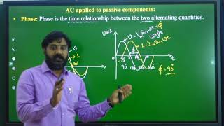 I PUC | ELECTRONICS | AC and DC APPLIED TO PASSIVE COMPONENTS-05
