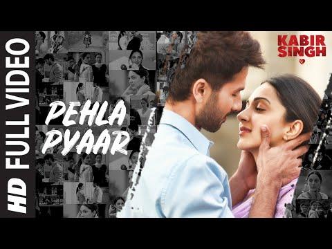 Full Song: Pehla Pyaar  Kabir Singh  Shahid Kapoor, Kiara Advani  Armaan Malik  Vishal Mishra