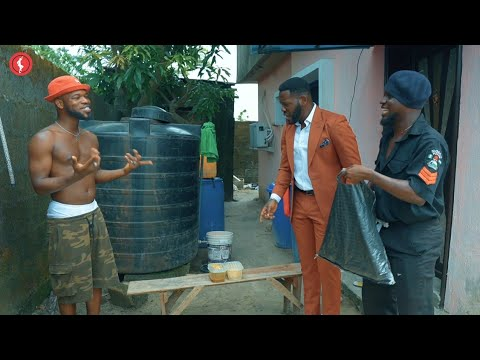 Comedy: Brodashaggi And Officer Woos In Big Trouble With Deyemi Okanlowo