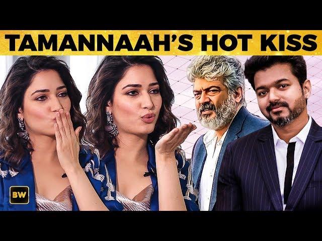 Thala is HOT, Thalapathy is... - Tamannaahs Pick & Hot Kiss | Kanne Kalaimaane | SS 69