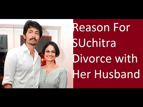 Singer Suchitra confirms, She Divorce her Husband Karthik Kumar