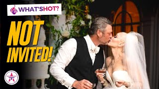 Blake Shelton and Gwen Stefani's Wedding! Who Was NOT Invited?
