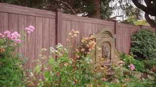 Grand Illusions Color and Wood Grain PVC Vinyl Fence Slideshow 2