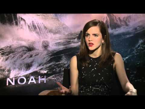 Interview Emma Watson On Darren Aronofsky's  Noah  (MovieZine.se)
