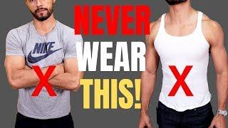 7 Shirts Men Should NEVER Wear!