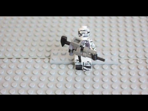Lego AK-12 (BATTLEFIELD/COD GHOSTS)