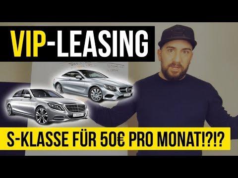 VIP Leasing 😎 - Youtuber bekommen SONDERANGEBOTE! Das Mercedes VIP-Leasing