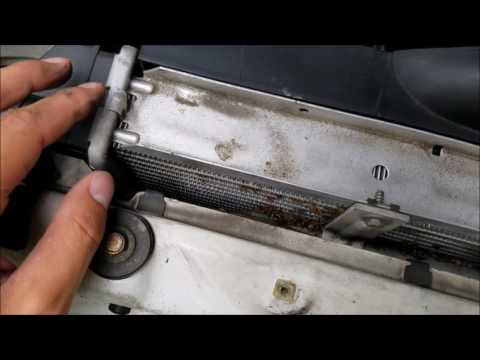 BMW E36 Coolant System Rebuild Part 1 of 5 Radiator Removal