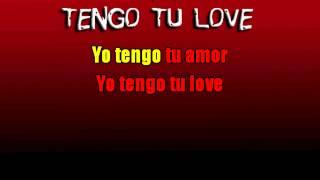 TENGO TU LOVE   Sie7e   Karaoke HD