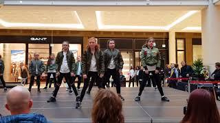 Samuel's Dancehall Auftritt Berlin in der Mall of Berlin