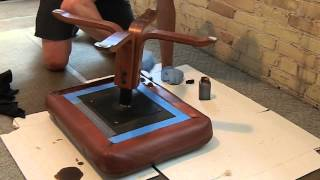 Re-dyeing Your Leather Furniture
