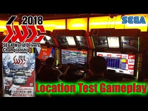 Vlog Japon 🇯🇵 Gameplay de SEGA World Drivers Championship Location Test Club SEGA