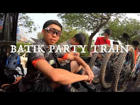 Batik Party Train | Mountain Biking Dangas Bike Park - Batam, Indonesia