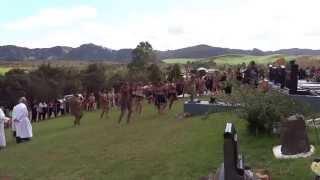 Nz Top Haka warriors.  maori leaders funeral l  Erima Henare