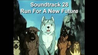 Hopeanuoli (Ginga Nagareboshi Gin/ Silver Fang) - Soundtrack 28 Run For A New Future